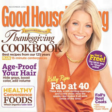 NILS Grace Jacket graces the pages of Good Housekeeping Nov. 2010 Issue