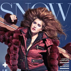 Ingrid Jacket Featured in SNOW Magazine